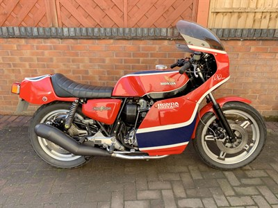 Lot 15-1978 Honda CB750 Phil Read Replica
