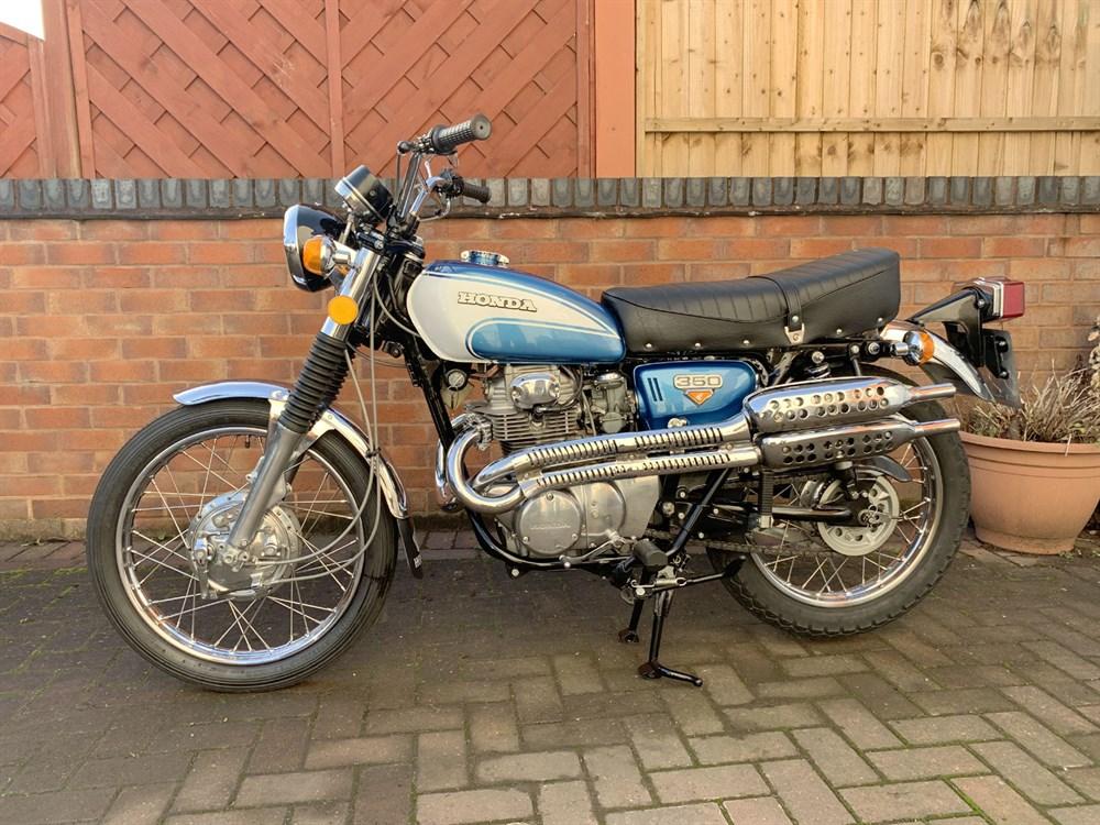 Lot 16 - 1972 Honda CL350 K5