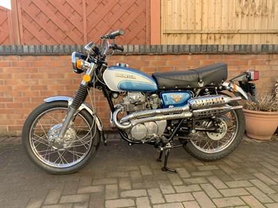 Lot 16-1972 Honda CL350 K5