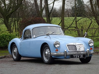 Lot 41-1959 MG A 1600 Coupe