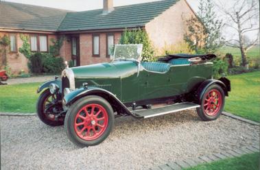 Lot 12-1925 Crossley 15/30 Three Door Open Tourer