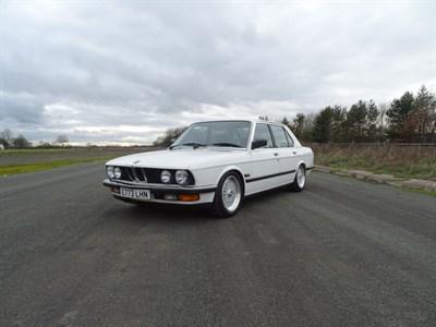 Lot 1000-1988 BMW 520i LUX