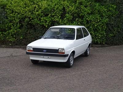 Lot 21-1978 Ford Fiesta 950