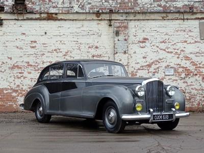 Lot 53-1952 Bentley R-Type James Young Saloon