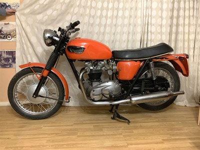 Lot 56-1967 Triumph TR6 Trophy