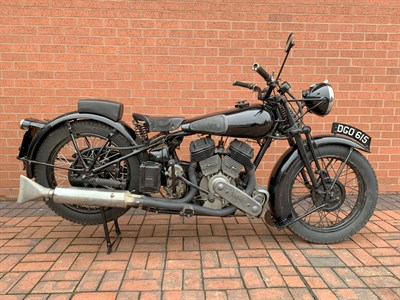 Lot 57-1937 Brough Superior SS80 Combination