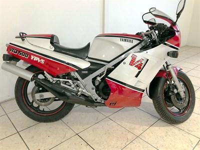 Lot 88-1986 Yamaha RD500 LC