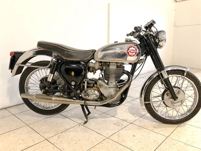 Lot 89-1956 BSA DB34 Gold Star