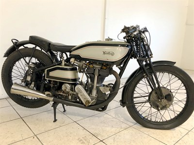 Lot 90-1938 Norton Manx 30M