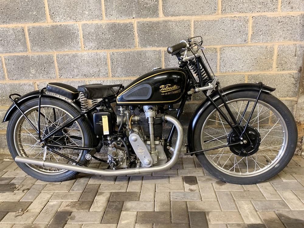 Lot 91-1934 Velocette KSS