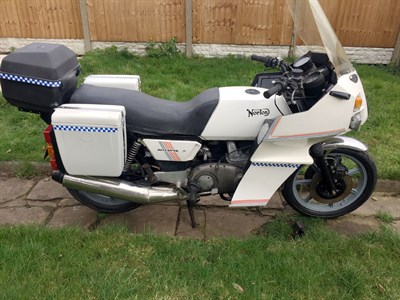 Lot 94-1985 Norton Interpol 2