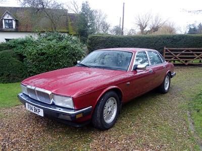 Lot 14-1988 Jaguar Sovereign 3.6