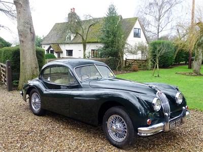 Lot 82-1955 Jaguar XK140 Fixed Head Coupe
