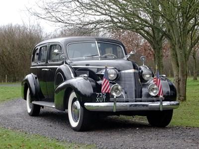 Lot 25-1939 Cadillac Series 75 Fleetwood Sedan
