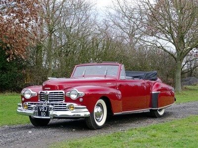 Lot 67-1948 Lincoln Continental Cabriolet