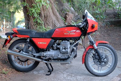 Lot 149-1982 Moto Guzzi V50 Monza