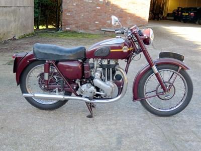 Lot 147-1955 Ariel Red Hunter NH