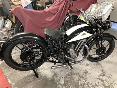 Lot 148-1934 Cotton 500cc