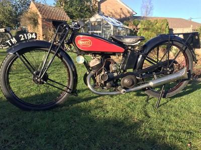 Lot 118-1928 Dunelt Model K