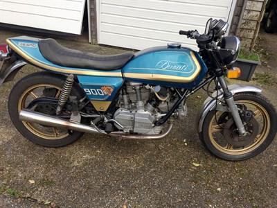 Lot 120-1978 Ducati Darmah