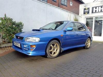 Lot 27-2000 Subaru Impreza WRX STi Sport Wagon