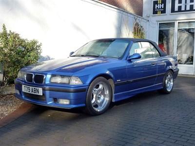 Lot 5-1999 BMW M3 Evolution Convertible