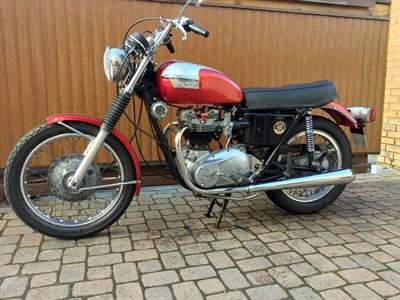 Lot 159-1974 Triumph T120R Bonneville