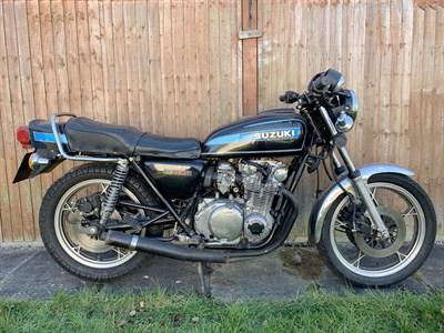 Lot 156-1980 Suzuki GS550E