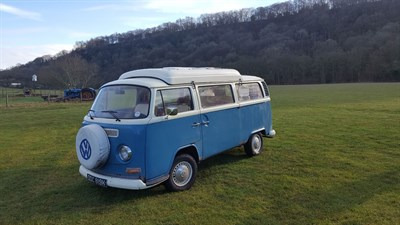 Lot 64-1972 Volkswagen Type 2 Camper Van