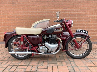 Lot 100-1954 Ariel Huntmaster FH Combination