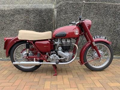 Lot 102-1958 Ariel Red Hunter NH
