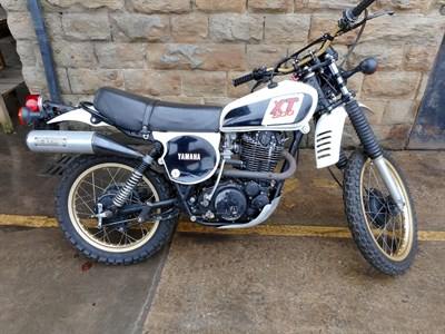 Lot 166-1979 Yamaha XT500