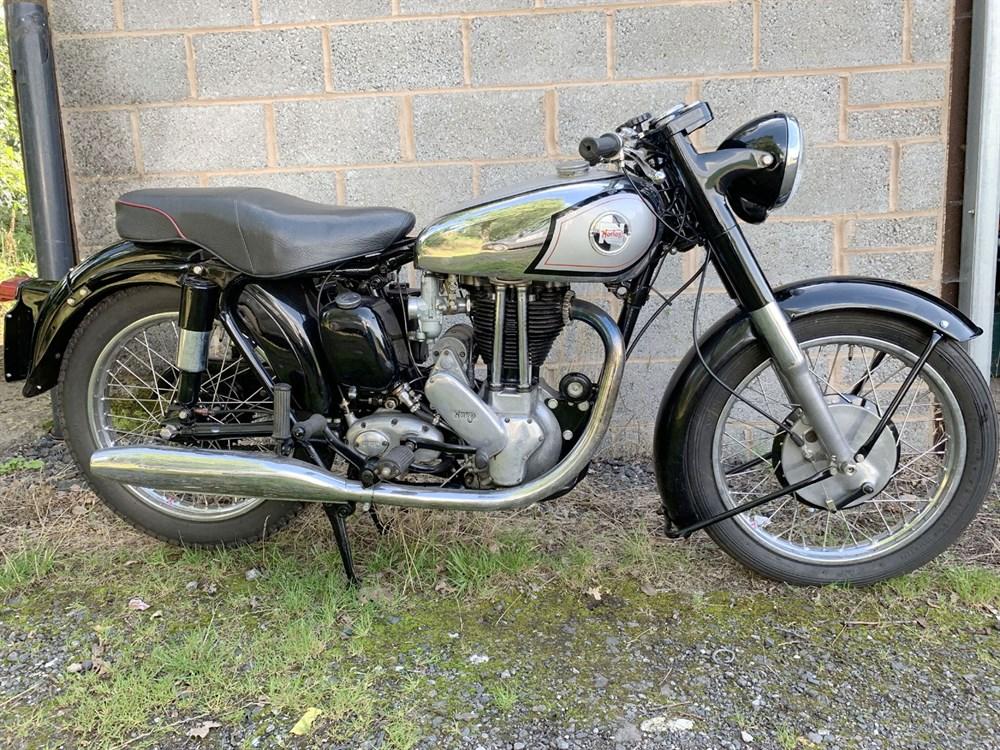 Lot 89-1956 Norton ES2
