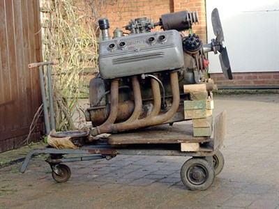 Lot 58-Ardun Mercury V8 Engine (ex-Allard Works)