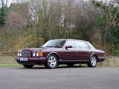 Lot 10-1997 Bentley Turbo RT
