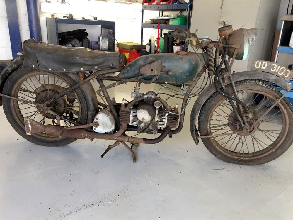 Lot 78 - 1933 Douglas Model A