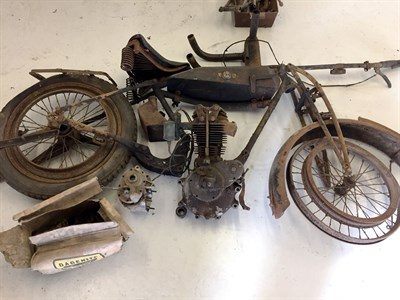Lot 79-1926 Rudge-Whitworth 500cc