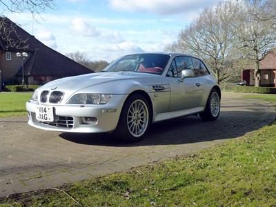 Lot 7-2000 BMW Z3 2.8 Coupe