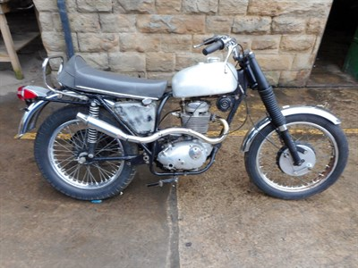 Lot 4-1969 BSA B44 Victor Special