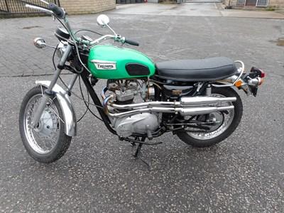 Lot 5-1972 Triumph TR6 Trophy