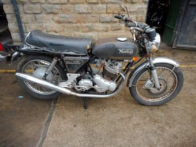 Lot 140-1974 Norton Commando 850 MKII