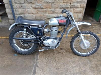 Lot 105-1969 BSA B44 Victor Special