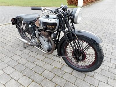 Lot 68-1934 Triumph Model 3/1