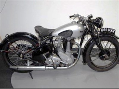 Lot 31-1937 BSA H19