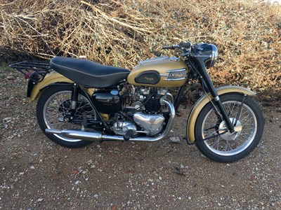Lot 70-1957 Triumph 6T Thunderbird