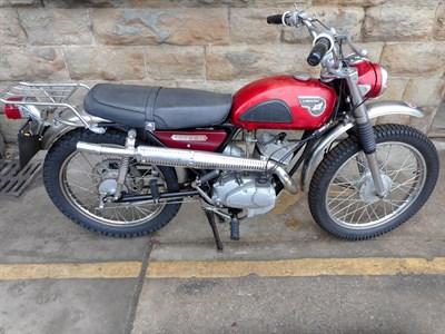 Lot 163-1967 Kawasaki C2TR 120 Roadrunner