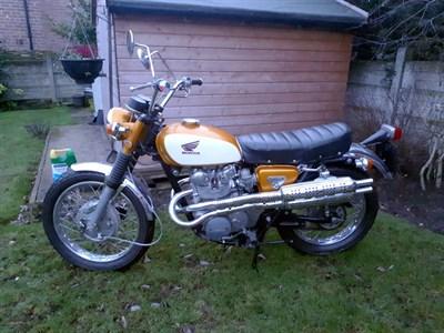 Lot 141-1971 Honda CL450 K3