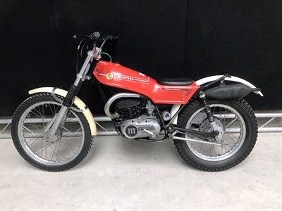 Lot 23-1977 Montesa Cota 247 'Ulf Karlson' Replica