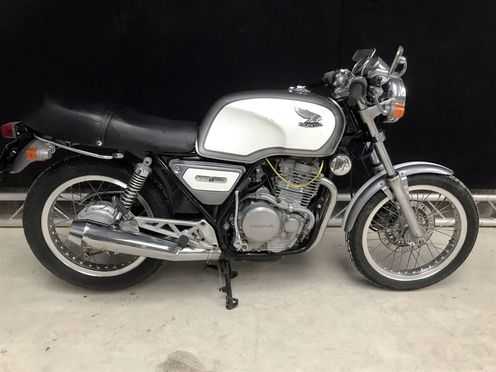 Lot 24 - 1985 Honda GB500 TT