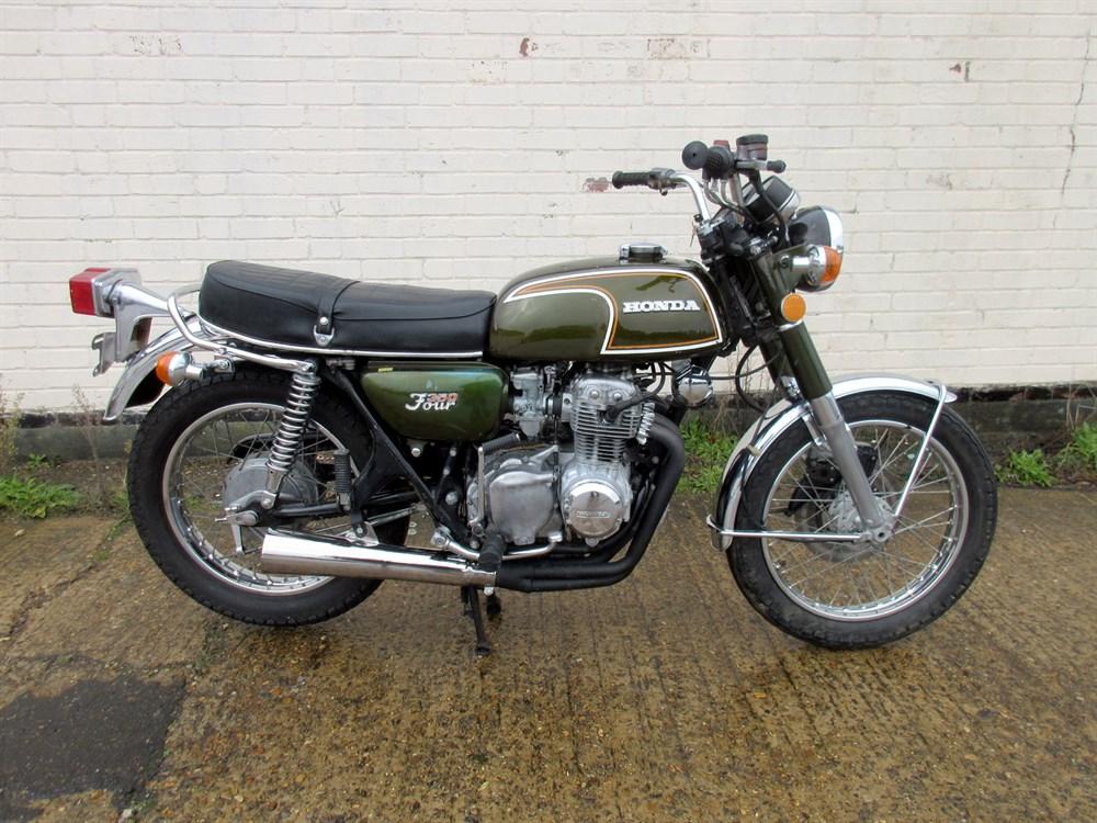 Lot 19 - 1973 Honda CB350F